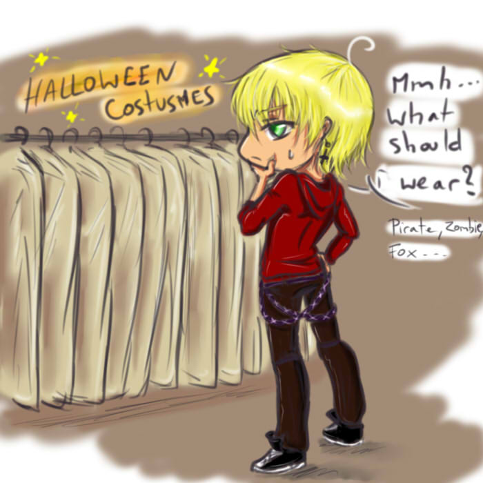 What should i wear xD by LucioleSama888