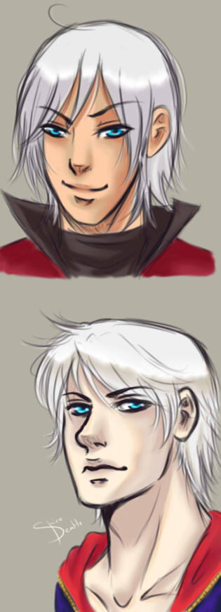 DMC Faces Time by LucioleSama888