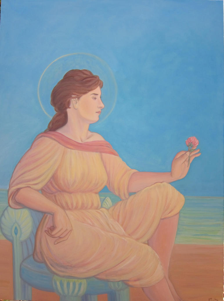 Aphrodite By the Sea by MariaAragon64