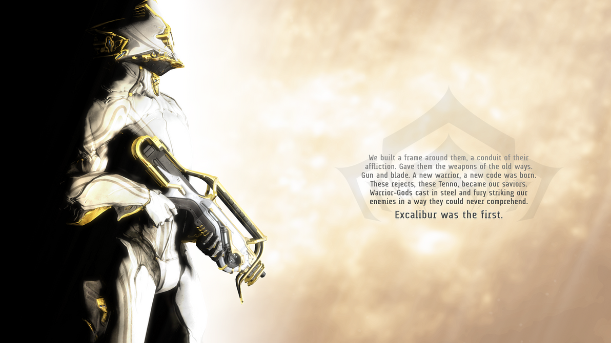Excalibur Prime Warframe Wallpaper By Aerial1