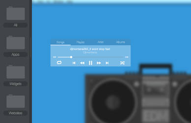 Flat_Clear_MusicPlayer
