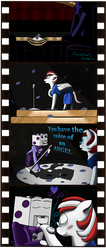 A Peppermint Performence ( Comic Commission ) by FireHeartDraws