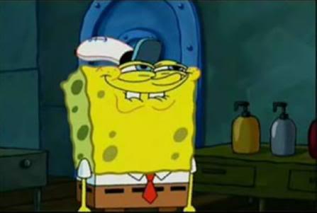 Spongebob likes TM's
