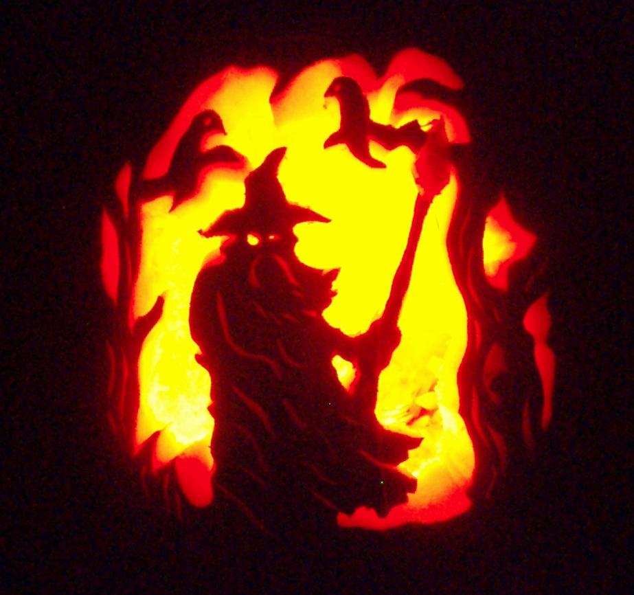 Odin Pumpkin by tptrsn