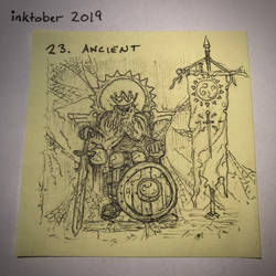 inktober2019 23 Ancient
