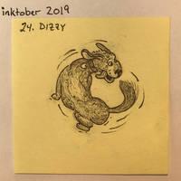 Inktober2019 24 Dizzy