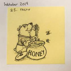 Inktober2019 25 Tasty