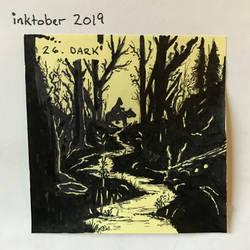 inktober2019 26 Dark