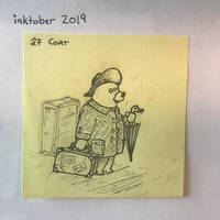 inktober2019 27 Coat