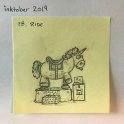 inktober2019 28 Ride