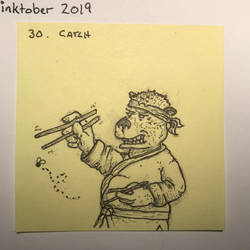 inktober2019 30 Catch