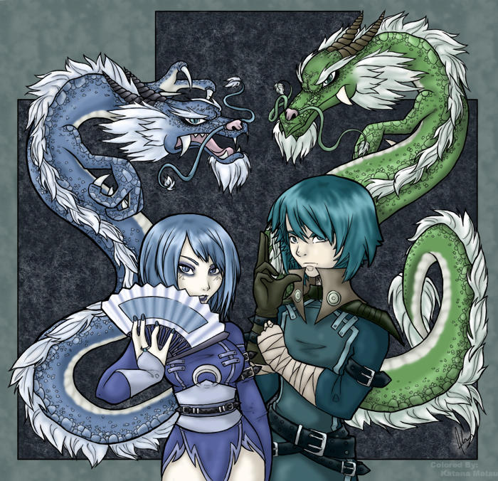 Areve - Dragons by KatanaMotsu
