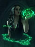 Witchling by FrostyVega