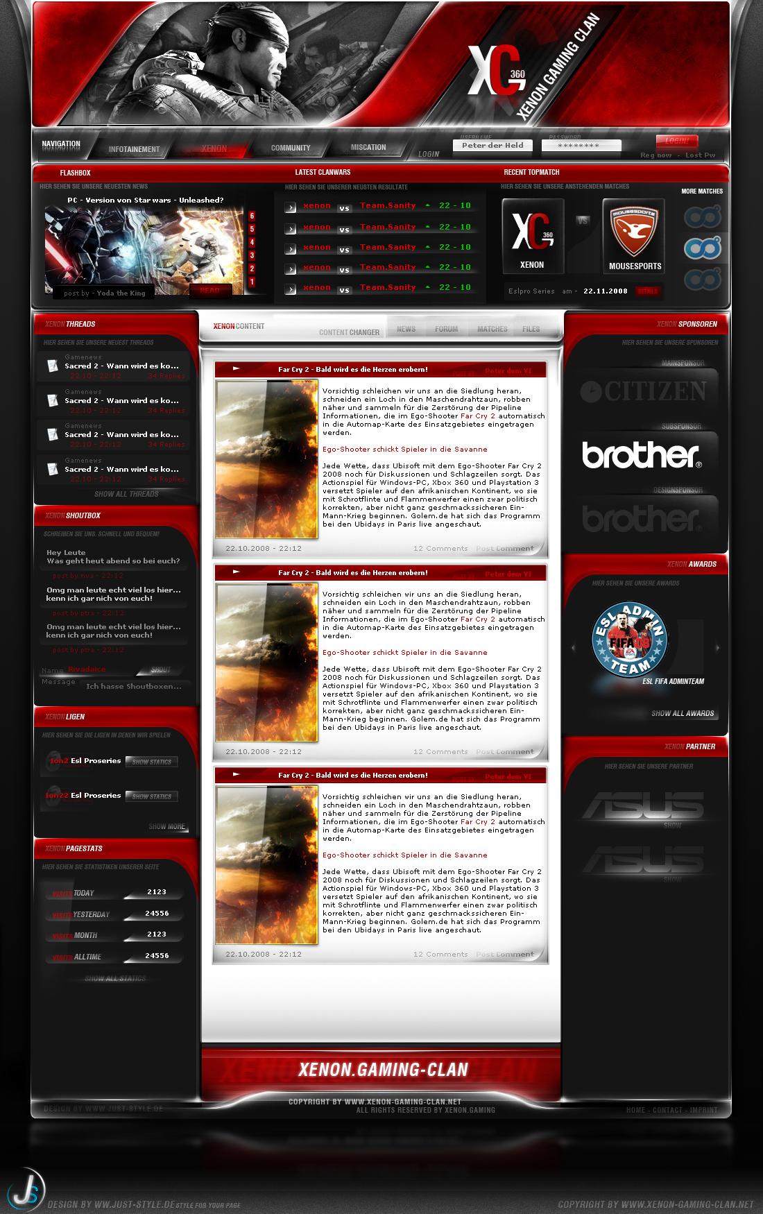 Xenon-Gaming 1.0 by rivadaice