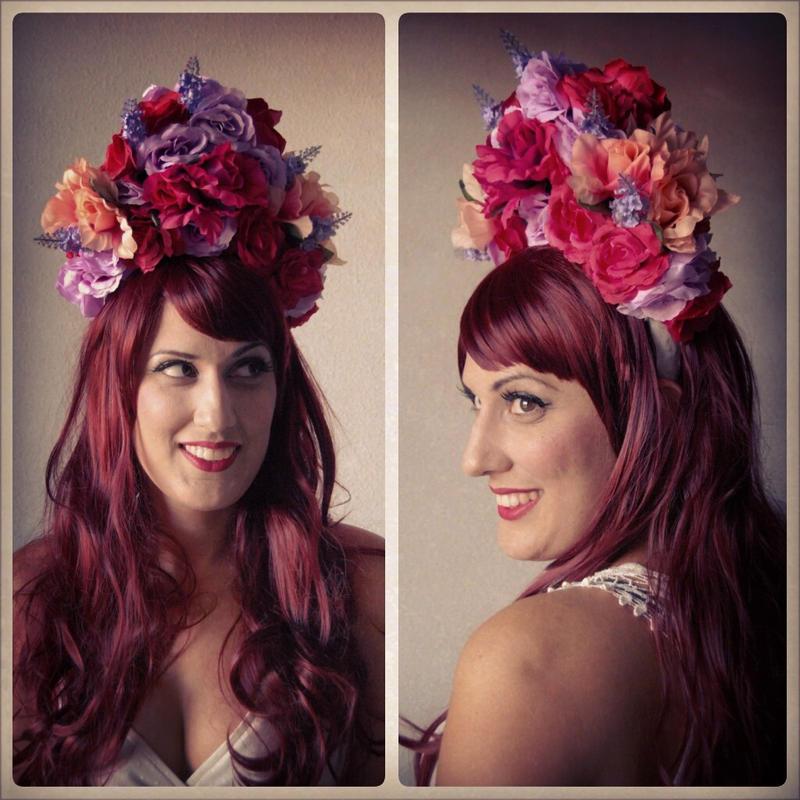 -:Fairytale Flower Crown:- by CarolineSuominen