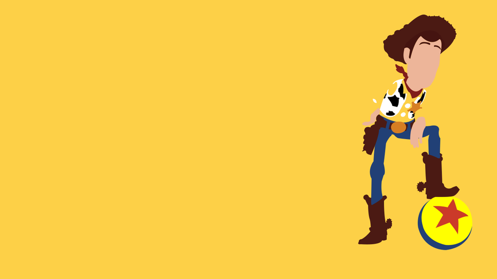 Wallpaper Woody minimallist by Thebigneku on DeviantArt