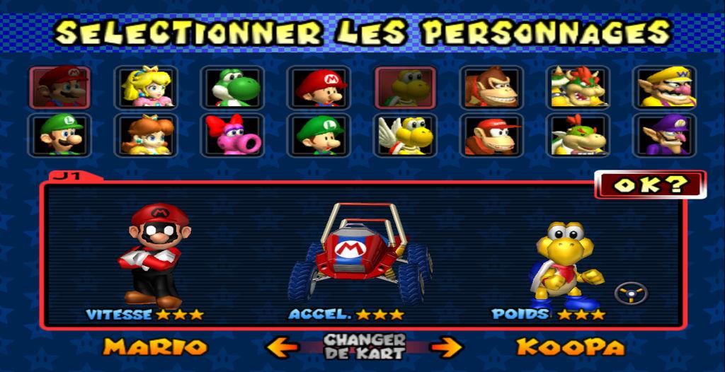 Mario Kart Double Dash Texture Hack Mario Koopa By Thebigneku On