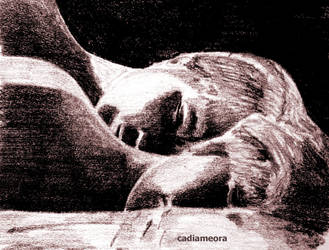 sleeping together by cadiameora
