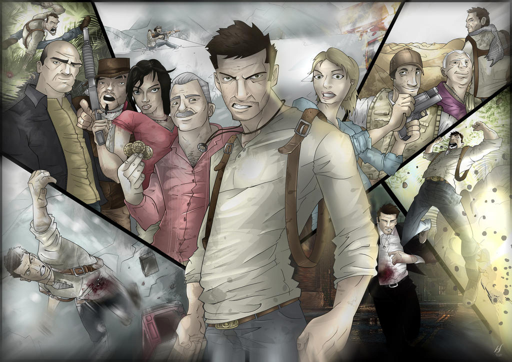 UNCHARTED by MatthewHogben