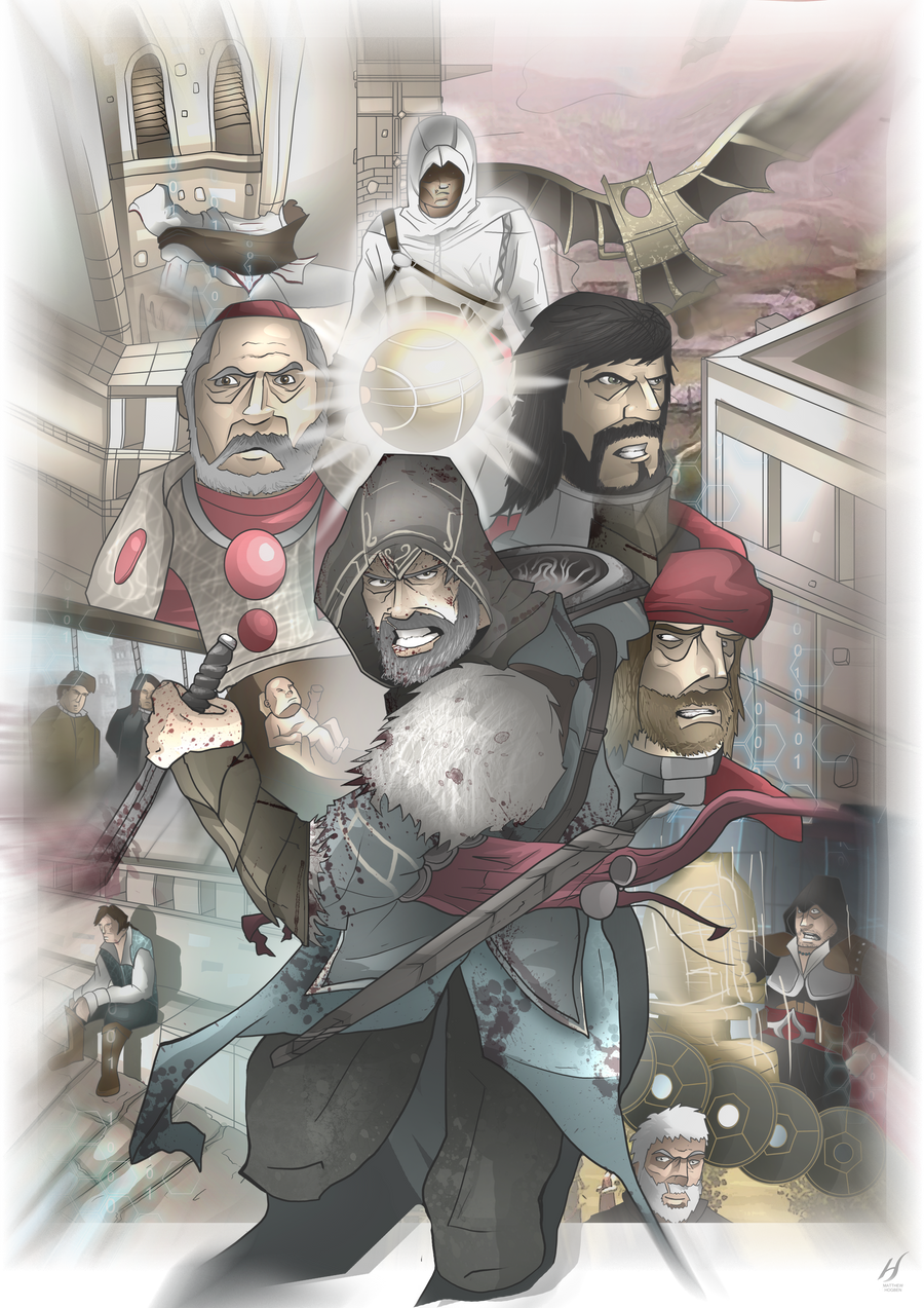 The Life of Ezio Auditore da Firenze by MatthewHogben