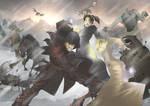 Skyrim- My 2 Dragonborns