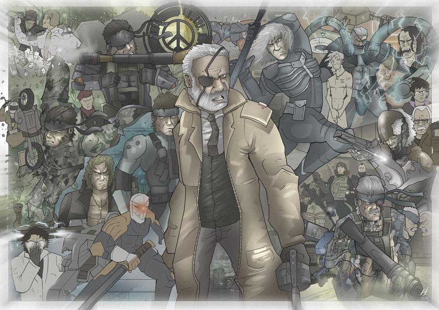 Metal Gear Solid Series by MatthewHogben
