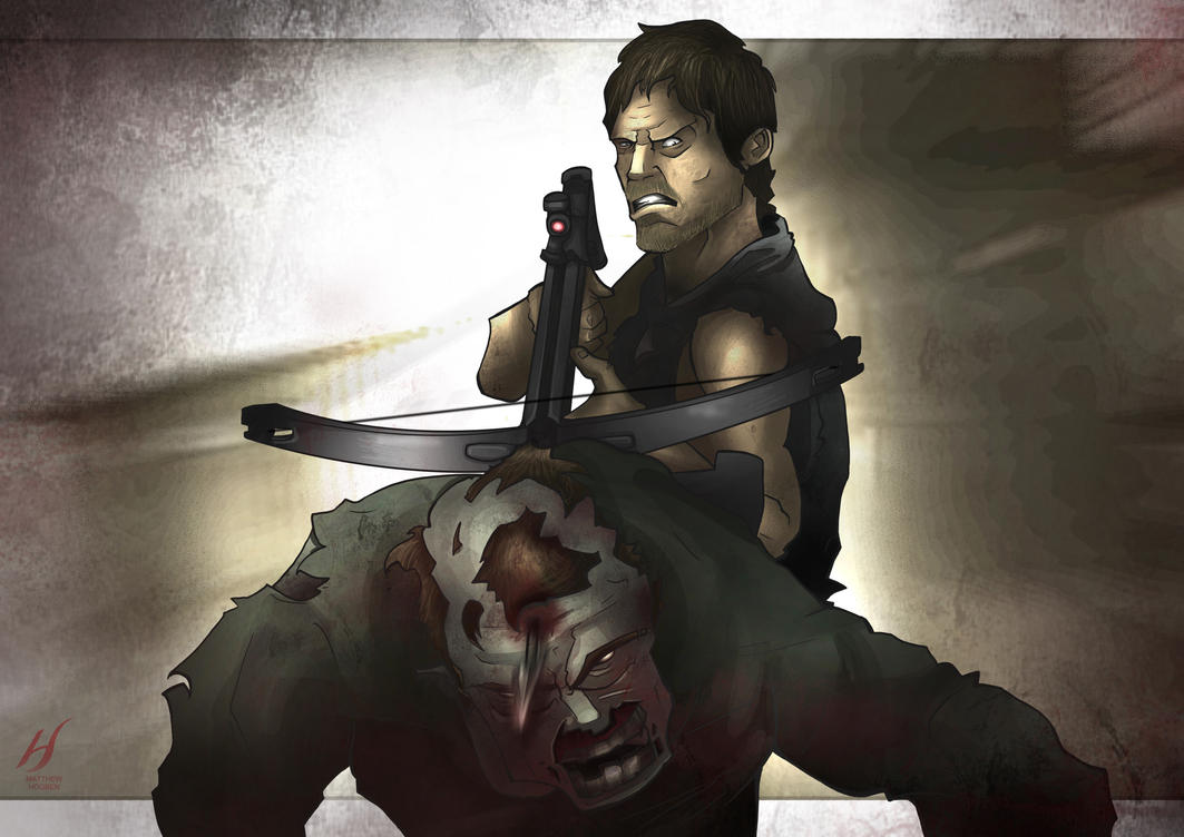 The Walking Dead - Daryl by MatthewHogben