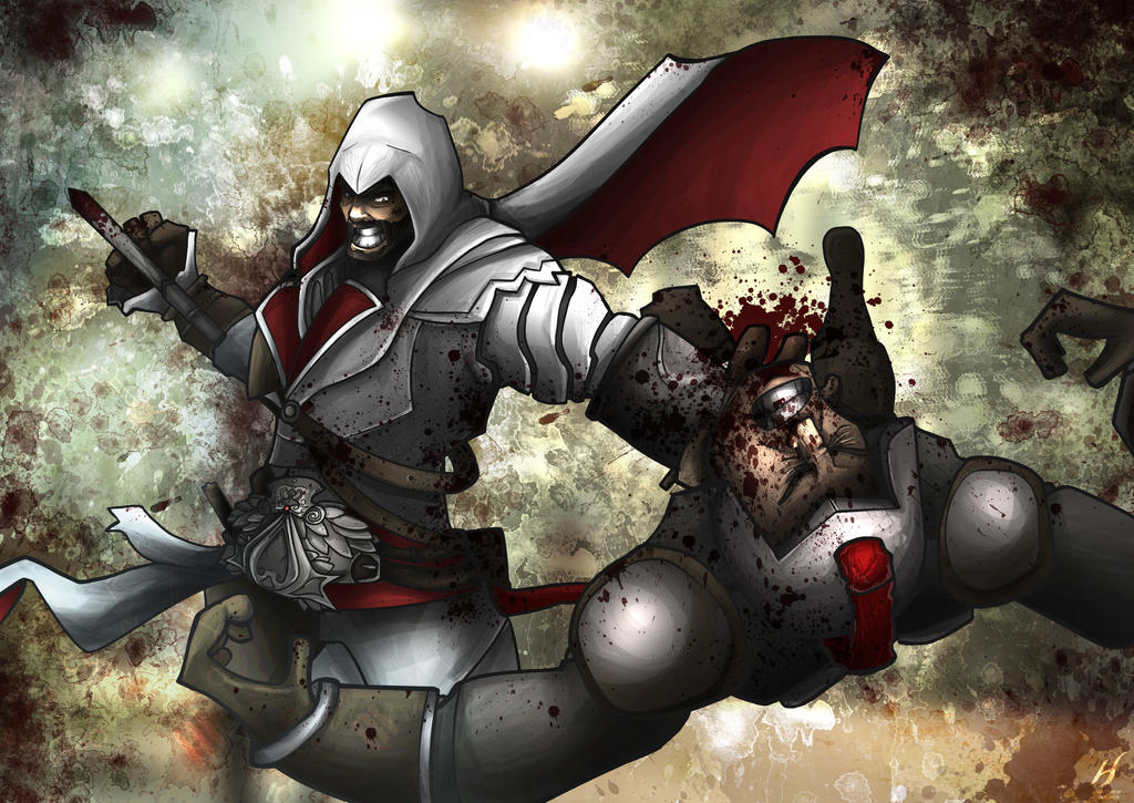 Ezio Auditore da Firenze by MatthewHogben