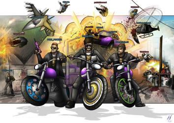 Grand Theft Auto: Online- Crazy Blammers by MatthewHogben
