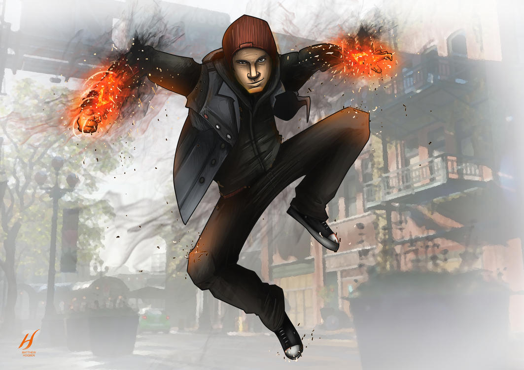 Infamous: Second Son- Delsin Rowe by MatthewHogben