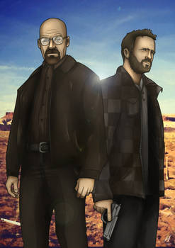 Breaking Bad- Walter White and Jesse Pinkman