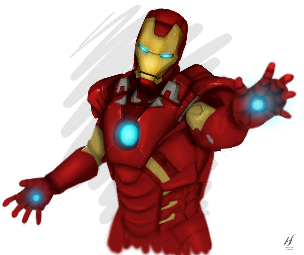 Iron Man by MatthewHogben