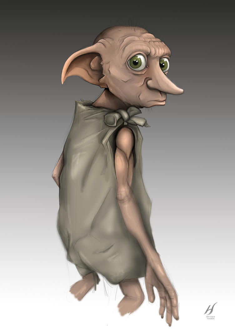 Dobby- Harry Potter by MatthewHogben