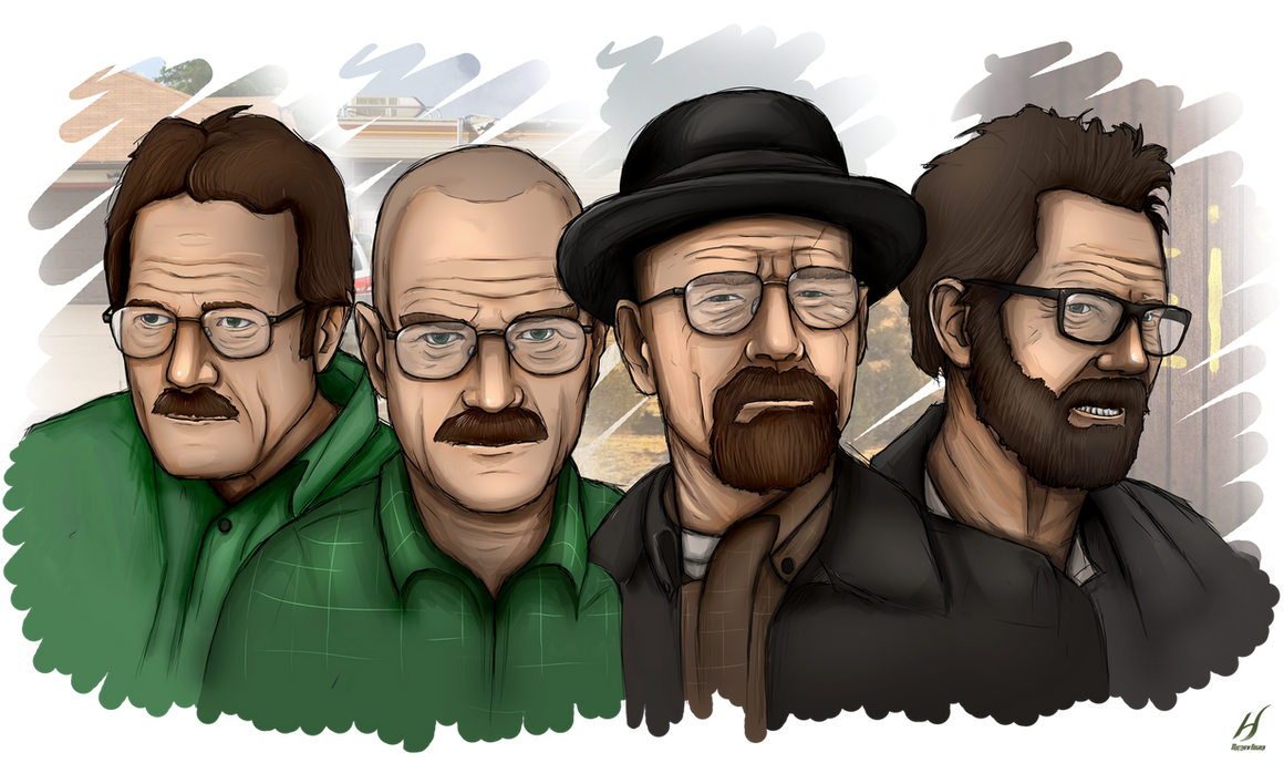 Breaking Bad - The Development of Walter White by MatthewHogben