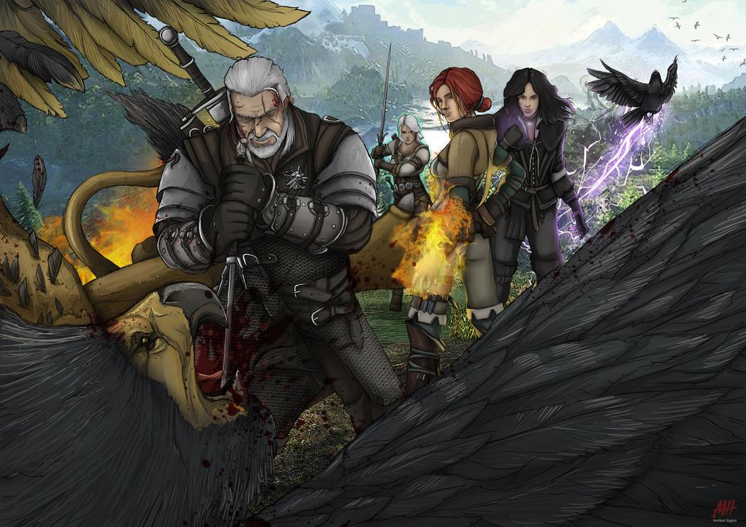 The Witcher 3 By MatthewHogben On DeviantArt