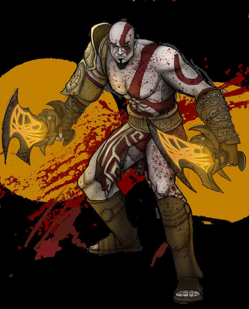 God of War- Kratos by MatthewHogben