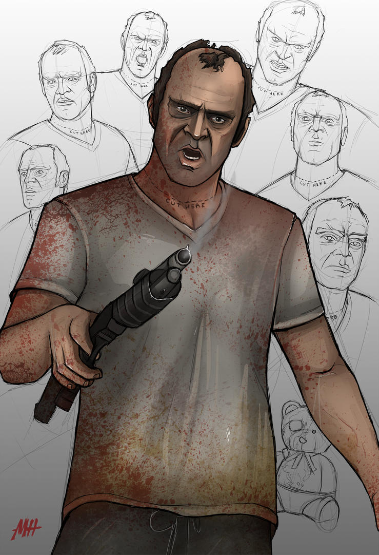 Trevor Philips by MatthewHogben