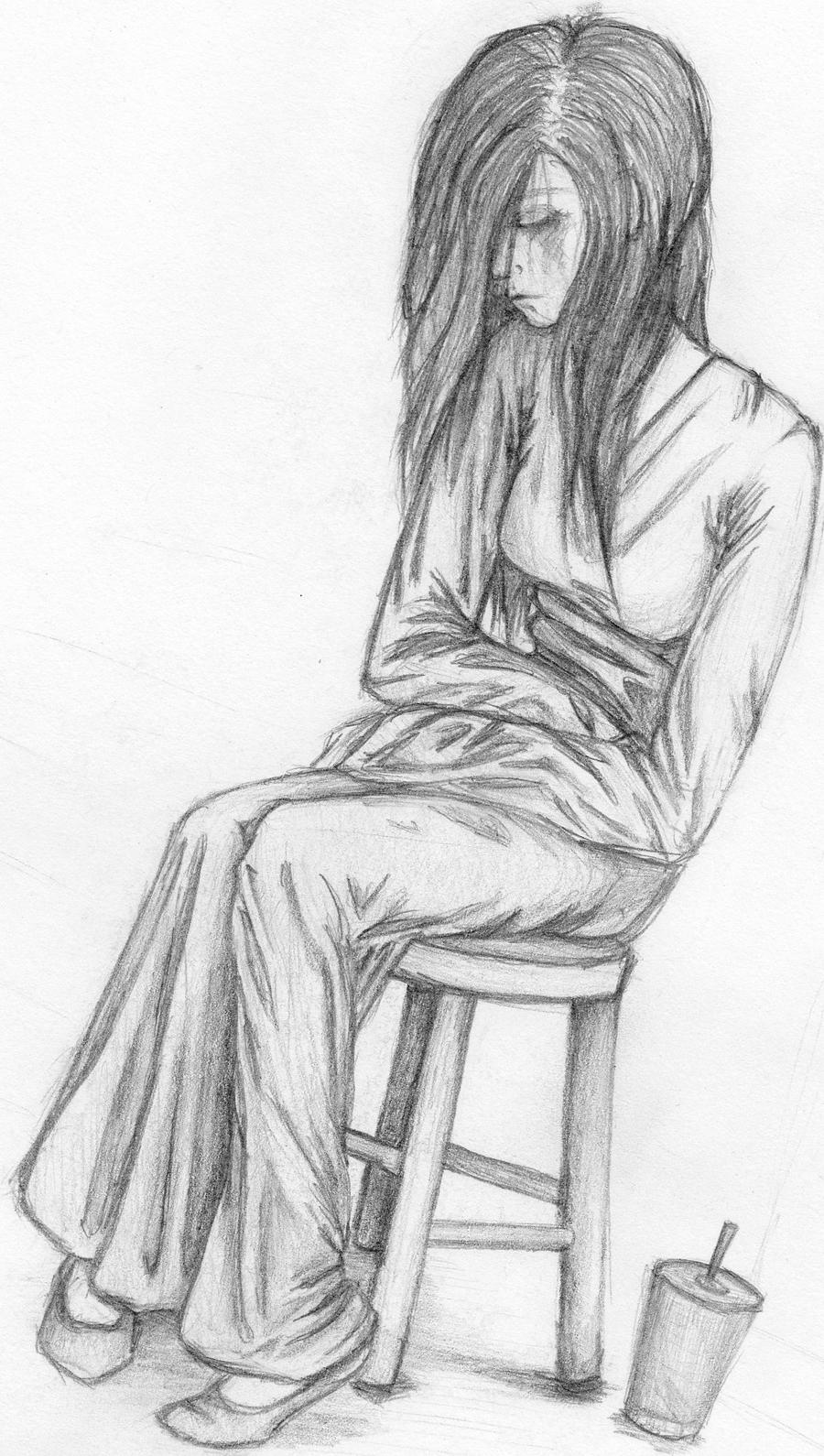 Sad Depressed Drawings Depressed Quotes And D...