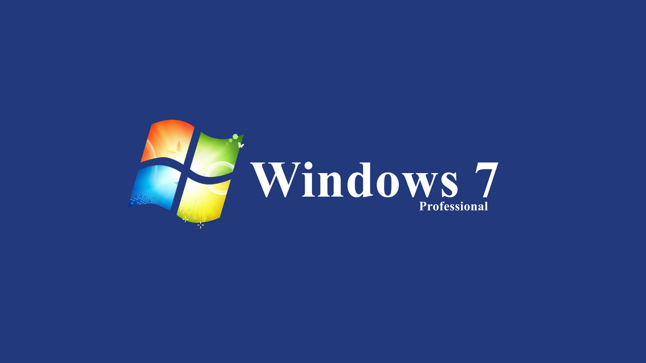 windows 7 professional wallpaper by theredcrown on deviantart