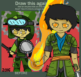 Evolution Of Art (Zachary) #2 by The-Common-Commander