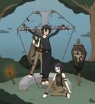 Commission #13: Kirito tickled