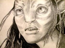 Neytiri from Avatar by piratesavvy07