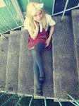 (APH) Gakuen Belarus cosplay: look at me by CreatureShadow
