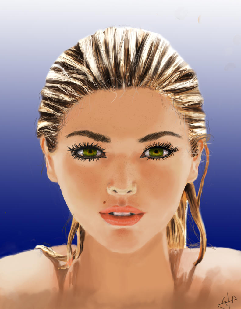 Portrait 15 - Kate Upton by Programmega