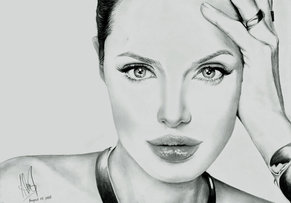 Angelina Jolie 1 by riefra