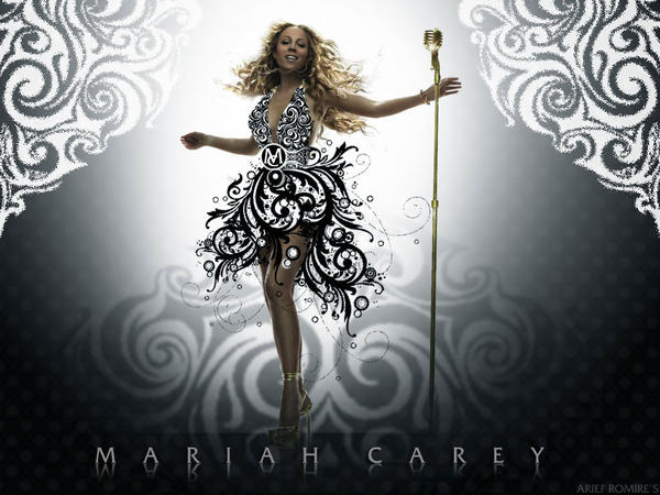 mariah carey floral by riefra