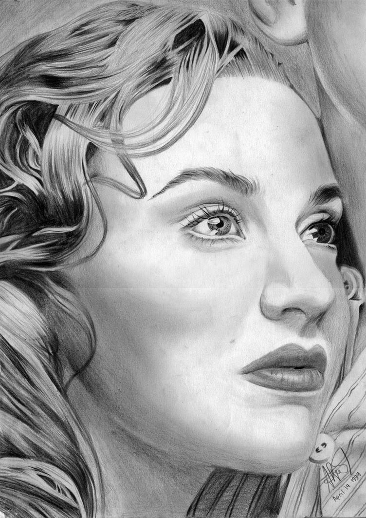 Kate Winslet Titanic Rose by riefra