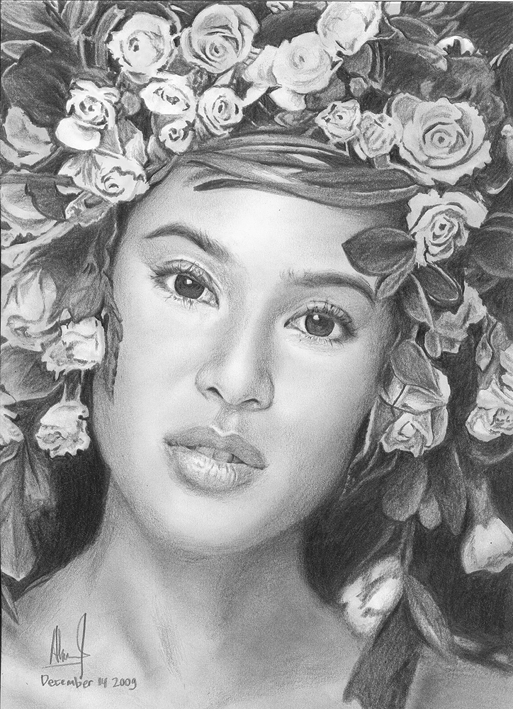 Dian Sastro Mother Earth ART by riefra
