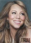 Mariah Carey Color Drawing 3