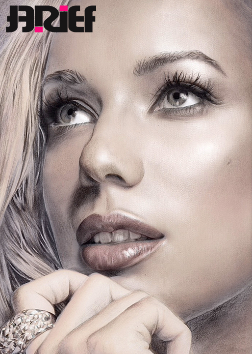 Leona Lewis ART color version by riefra